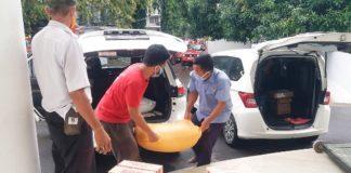 Sembako PKK SulSel kepada Panti Asuhan.